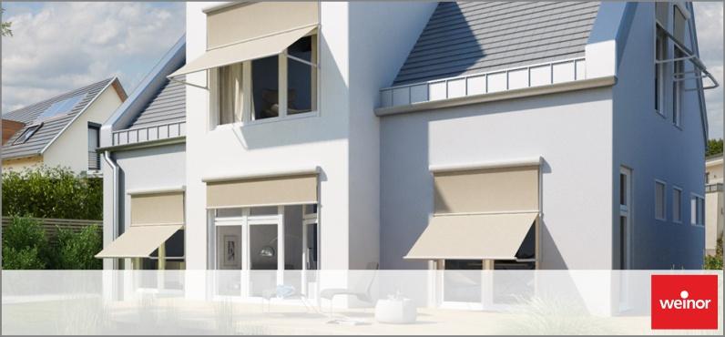 fenster markise von weinor rolladen kessler gmbh. Black Bedroom Furniture Sets. Home Design Ideas