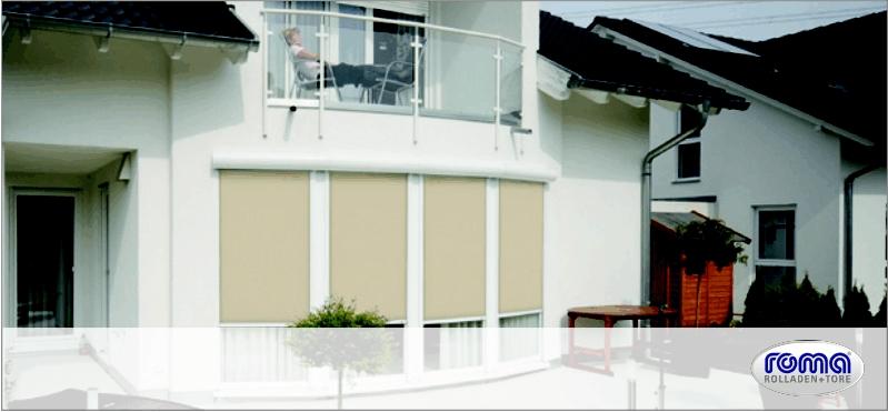 zipscreen rolladen kessler gmbh. Black Bedroom Furniture Sets. Home Design Ideas
